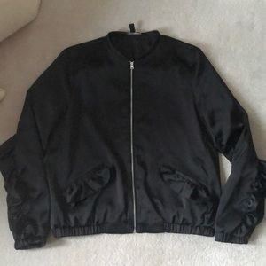 Ruffled Zara bomber jacket !